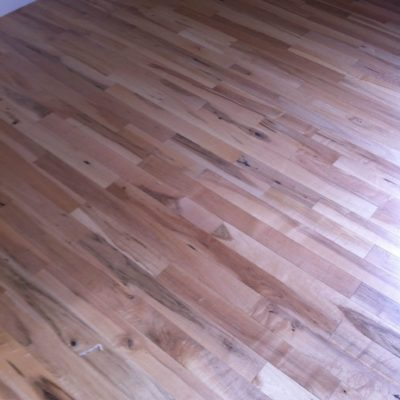 Per finished maple 167 sf total $3.50 sf