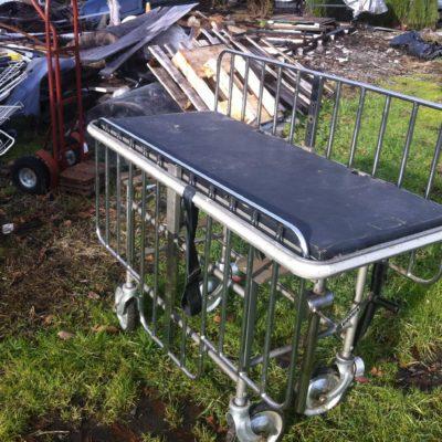 Colson Hospital cart Adjustable height  and tilt option $200