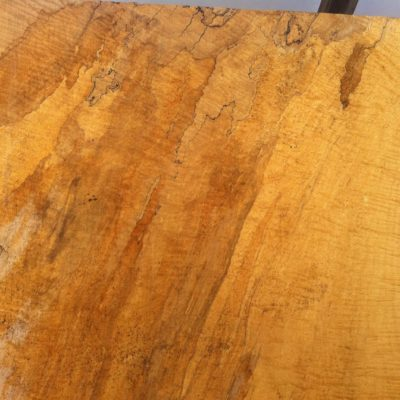 "Splaltded Curley maple 1  1/2"" thick $7.50 bf"